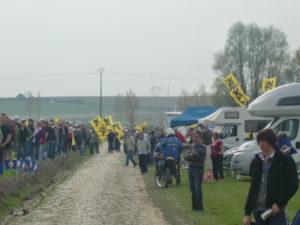 Paris Roubaix 2009. Lasterketaren zain