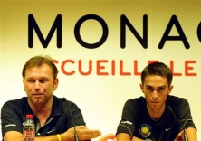 2009ko Tour bezperako prentsaurrekoa: Bruyneel eta Contador