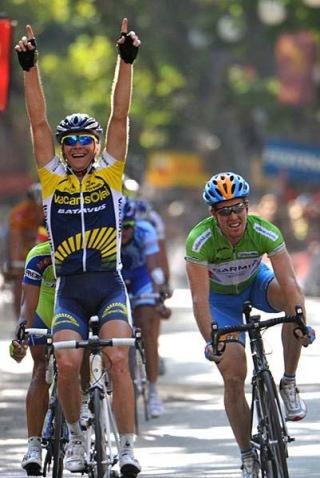 Bozic. 2009ko Vueltan 6. etapan garaipena
