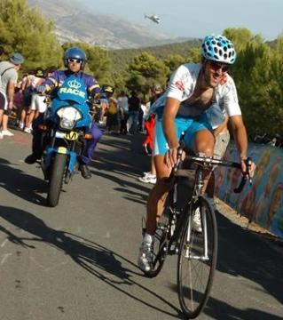 Veloso. 2009ko Vueltako 9. etapan garaipena