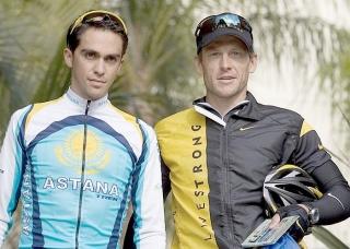 Contador eta Armstrong