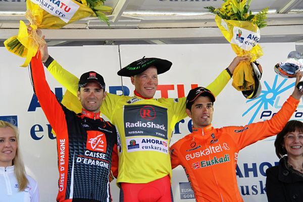 Euskal Herriko Itzuliko podiuma
