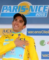 Contador, Paris-Nice irabazi zuen egunean