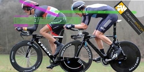 Andy Shleck eta Wiggins erlojuaren kontra