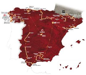 Vuelta 2013. Ibilbidea