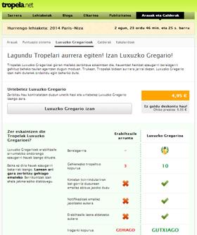 Luxuxko Gregarioak