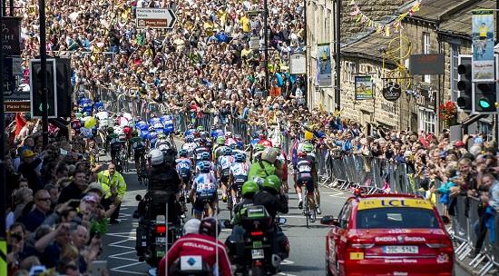 Frantziako Tourraren 1. etapa, Yorkshiren.