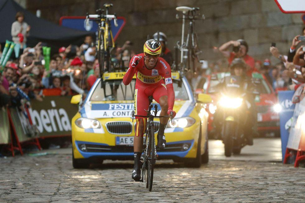 Alberto Contador - Vuelta 2014ko garailea