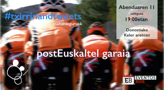 #txirrinandtweets : postEuskaltel